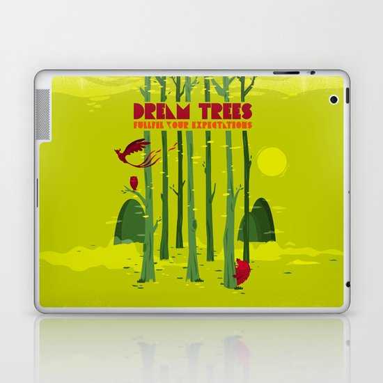 Dream Trees Laptop & iPad Skin