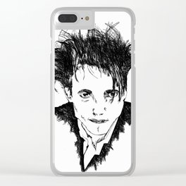 Robert Smith Clear iPhone Case