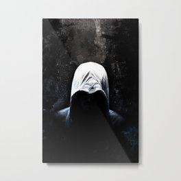 Native Assassin Hood - Color Metal Print
