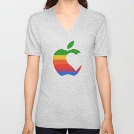 Apple Love Unisex V-Neck