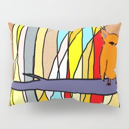 meditation animal Pillow Sham