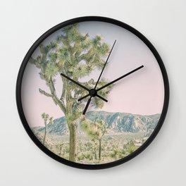 Joshua Tree Ombre Wall Clock