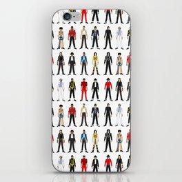 King MJ Pop Music Fashion LV iPhone Skin