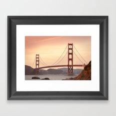 Golden Gate Bridge (San Francisco, CA) Framed Art Print