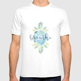 Breathe - Watercolor T-shirt