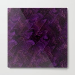 Majestic Purple Ballroom Metal Print