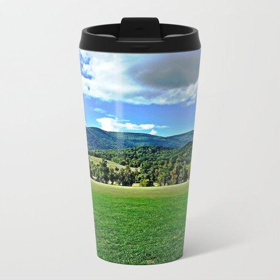 Captivating Virginia Landscape - Blue Ridge Mountains Metal Travel Mug