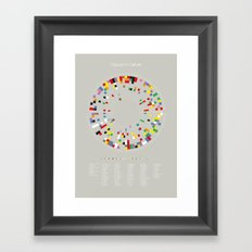 Colours in Culture Framed Art Print