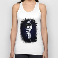 bed Tank Tops featuring Bed Time by artlandofme
