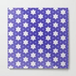 Purple Passion Pattern 10 Metal Print