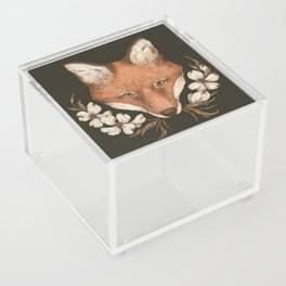 The Fox and Dogwoods Acrylic Box