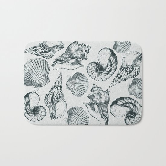 shells Bath Mat