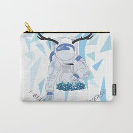 Crystal Astronaut Carry-All Pouch
