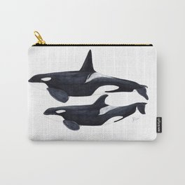 Orca male and female Carry-All Pouch