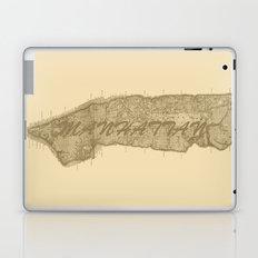 Vintage Manhattan Gold Laptop & iPad Skin