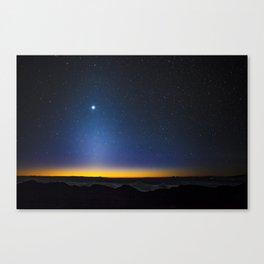 Stars in Hawaii Canvas Print