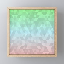 Pastel Ombre 2 Framed Mini Art Print