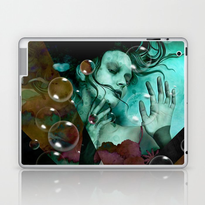 """""""The witch of the water forest"""" Laptop & iPad Skin"""