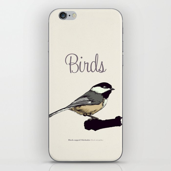BIRDS 03 iPhone Skin
