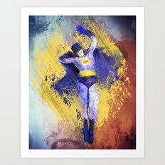 Adam West Art Print
