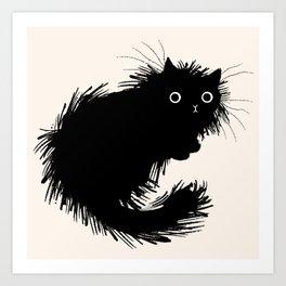 Moggy (No.2) Art Print