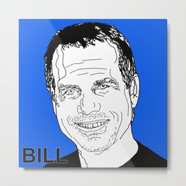 BILL Paxton (2016) Metal Print