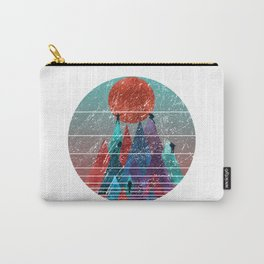 Reach For The Sun - watercolor grunge Carry-All Pouch
