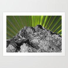 Rising of the Palm Art Print