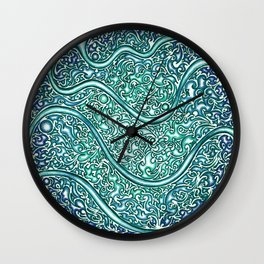 Little November Wall Clock
