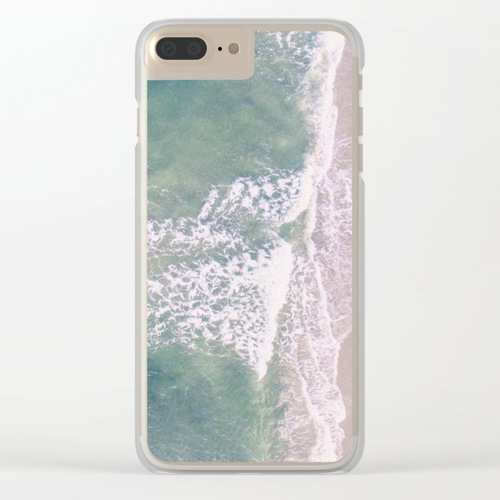 Empty Oceanside Clear iPhone Case