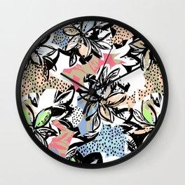 Big flower Wall Clock