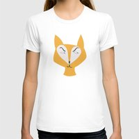 mr fox T-shirts featuring Mr Fox by Lydia Coventry