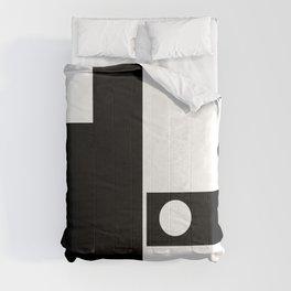 Minimal Black and White Comforters
