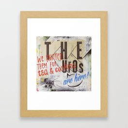 The Ufos Framed Art Print