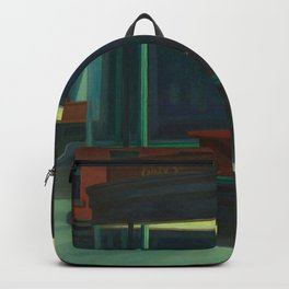 Nighthawks By Edward Hopper Backpack