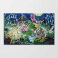 Fairy Ball Canvas Print
