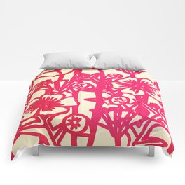 electric flower Comforters