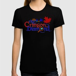The Crimson Diamond colour logo T-shirt