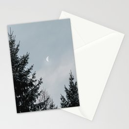 Half Moon | Nature and Landscape Photography Stationery Cards