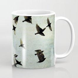 Birds Let's fly Coffee Mug