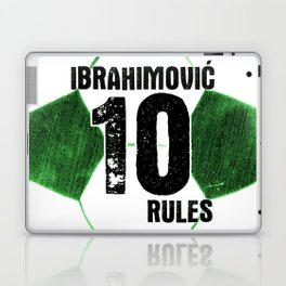 Ibrahimovic 10 Rules Laptop & iPad Skin
