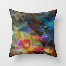 Elements II - Emergence Throw Pillow