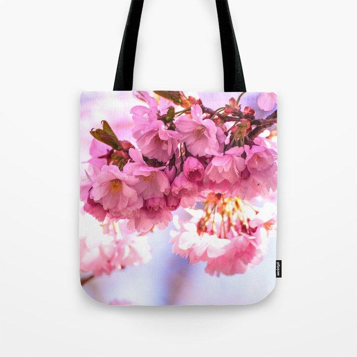 Pink Japanese Cherry Blossom, Sakura Tote Bag