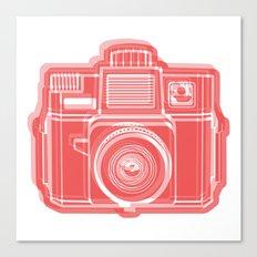 I Still Shoot Film Holga Logo - Red Canvas Print