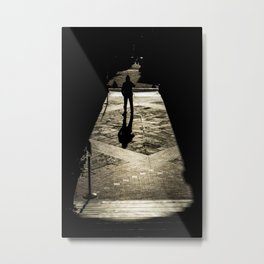 Genoa silhouette Metal Print