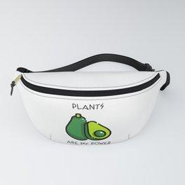 Plants Are My Power - Avocado Fanny Pack