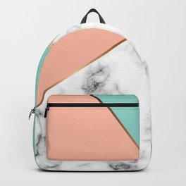 Marble Geometry 056 Backpack