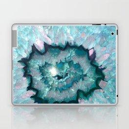Teal Agate Laptop & iPad Skin