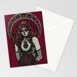 Sugar Skull Bride Stationery Cards