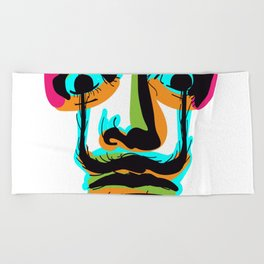 Hallucinate Dali Beach Towel